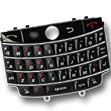 QWERTY Keyboard Buttons Numeric Key Keypad Cover Repair Replacement Replace for BlackBerry Tour 9630