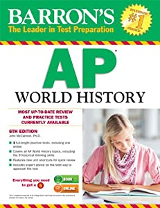 Barron's AP World History, 6th Edition by John McCannon