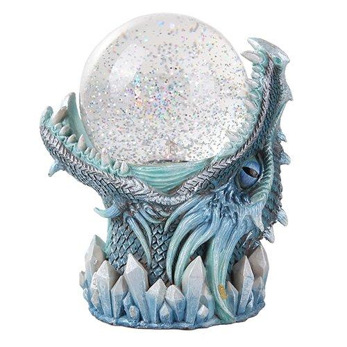 Giant Leviathan Ice Dagahra Ocean Deep Dragon Sand Storm Ball Figurine Home Decor Statue