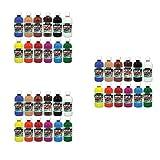 Sargent Art (SARAD) 24-6101 16oz Acrylic Paint Assortment, 12 Colors, Bottles (?hr?? ???k) (Tamaño: ?hr?? ???k)