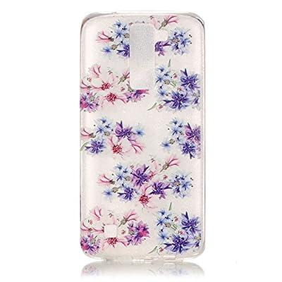 BLT LG K8 Case, Flower Patttern Case for LG K8 / LG Escape 3/ LG Phoenix 2 with a Phone Bracket
