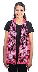 Romano Women's Trendy Pink Shrug Top