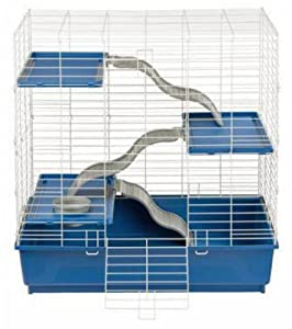 My First Home 3-Level Ferret/Chinchilla Cage, 30 by 18-Inch