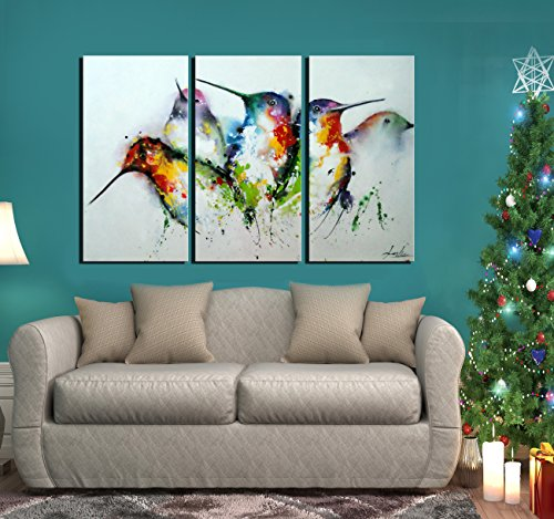ARTLAND Modern 100% Hand Painted framed Wall Art