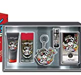 Ed Hardy Born Wild MEN's 5 Piece Gift Set: 100ml & 7.5ml EDT + 90ml Hair & Body Wash + 78g Deodorant Stick + Key Chain