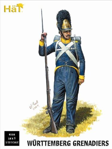 Hat Figures 1:32 - Wurttemberg Grenadiers - HAT9308