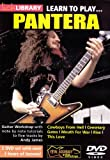 echange, troc Learn to Play - Pantera [Import anglais]