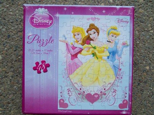 Disney Princess 48-Piece Puzzle - Styles Vary