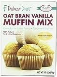 Dukan Diet Oat Bran Muffin Mix, Vanilla, 9.7 Ounce