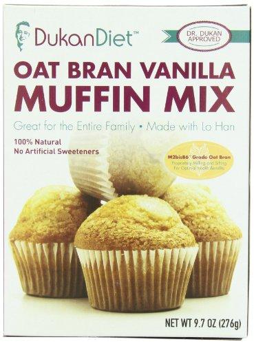 Régime Dukan Oat Bran Muffin Mix, vanille, once