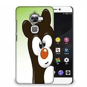 Snoogg funny cartoon bear Designer Protective Back Case Cover For Samsung Galaxy J1