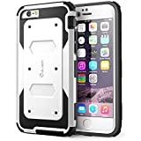 iPhone 6 Plus Case , i-Blason® [Armorbox] built-in Screen Protector **Full body** [Heavy Duty] Protection Shock Absorb Bumper Corner for Apple iPhone 6 Plus 5.5 inch (White)