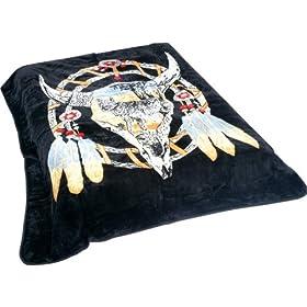 Dream Catcher Fleece Blanket For Twin Bed
