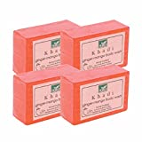 Khadi Mauri Ginger Mango Soap Combo Pack of 4 Herbal Ayurvedic Handcrafted Natural Soaps