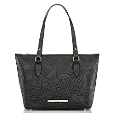 Medium Asher Tote<br>Black Saint Germaine