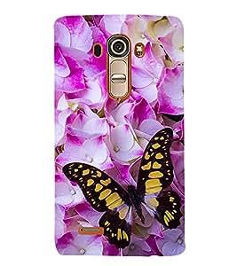 Vizagbeats Multicolour Butterfly Back Case Cover for LG GPro Lite::LG G Pro Lite Dual D686