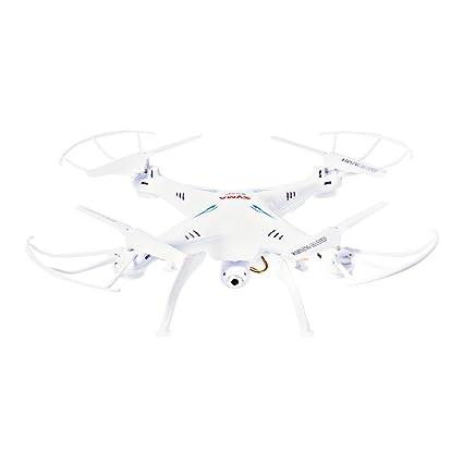 XCSOURCE Syma X5SW Quadcopter RC Télécommande 4 canaux 6 axes Gyro LED 2.4GHz avec Camera HD 2MP + 2 Batteries RC233