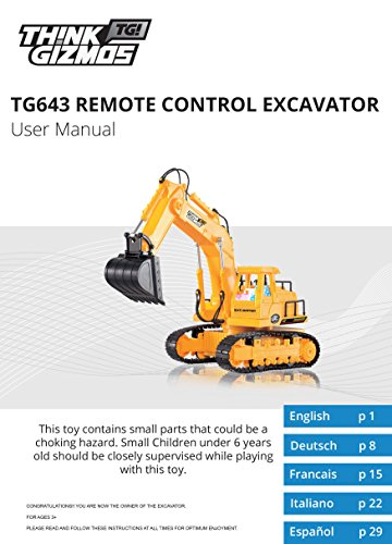 Remote-Control-Excavator-7-Channel-Full-Function-RC-Excavator-Toy-With-Lights-Sounds-By-ThinkGizmos-Trademark-Protected