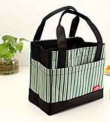 Thermal Lunch Box Bag - Green