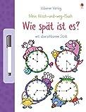 Mein Wisch-und-weg-Buch: Wie spät ist es