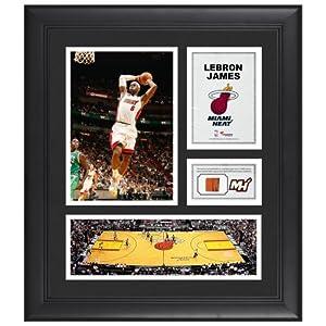 LeBron James Miami Heat Framed 15