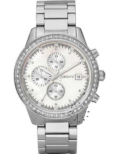 DKNY Chronograph Mother-of-pearl Dial Women's watch #NY8087