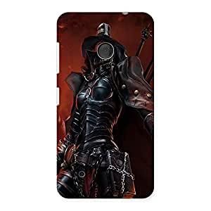 Ajay Enterprises black girl soldier Back Case Cover for Lumia 530