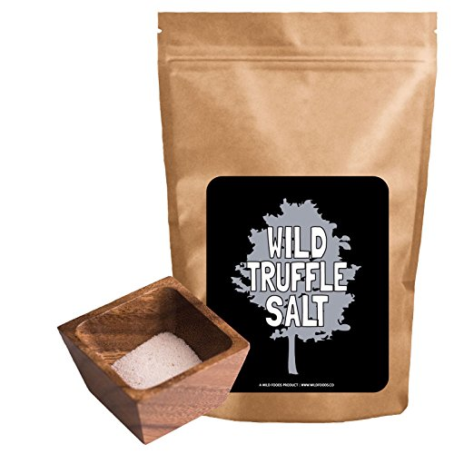 White Truffle Salt, All Natural Mediterranean Sea Salt made With Italian White Alba Truffles - 3 ounce (Fusion Truffle Salt compare prices)