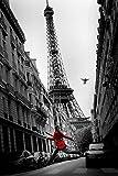 La Veste Rouge Poster Art Print
