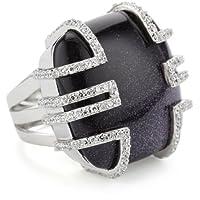 Nicky Hilton Bryant Park Sterling Silver Ring, Size 7