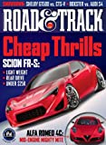 Road and Track (1-year auto-renewal)
