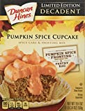 Limited Edition Decadent Pumpkin Spice Cupcake Mix - Pack of 2 (19.4oz Each Box)
