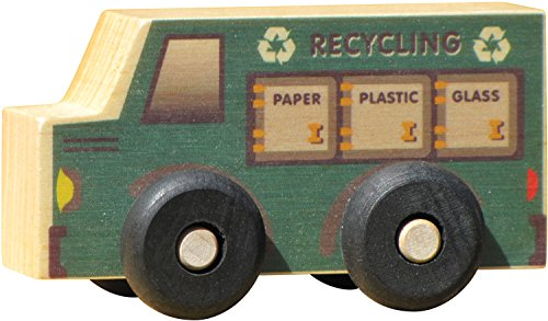 Scoots-Recycling Truck - Made in USA