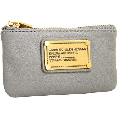 Marc Jacobs Coin Purse Warm Zinc Leather
