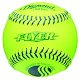 Diamond 12-Inch Super Synthetic Cover Fastpitch Softball, USSSA Stamped, Dozen by Diamond Sports