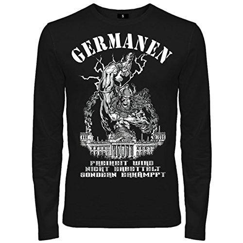 Spaß kostet -  T-shirt - Abbigliamento - Maniche lunghe  - Uomo nero X-Large