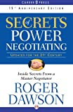 Secrets of Power Negotiating: 15th Anniversary Edition (Inside Secrets from a Master Negotiator) (English Edition)