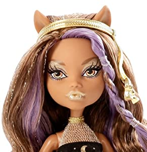 Monster High 13 Wishes Party Clawdeen Doll