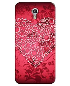 FurnishFantasy 3D Printed Designer Back Case Cover for Lenovo Zuk Z1