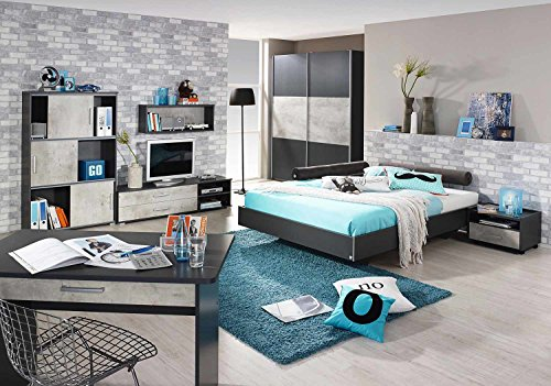 jugendzimmer komplett set jungen m chen. Black Bedroom Furniture Sets. Home Design Ideas