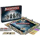 Winning Moves - Jjso0002445 - Jeu De Société - Monopoly - Assassin's Creed Edition