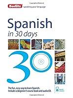 Berlitz Spanish in 30 Days
