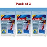 Vileda Magic Mop Flat Refill Pack of 3 - 096672