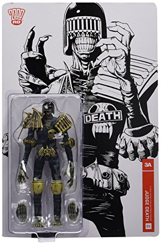 2000 AD Judge Death 1:12 Scale Action Figure