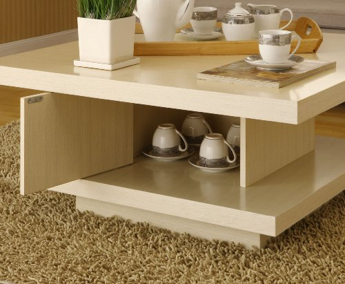 Buy Low Price Enitial Lab Celio Square Coffee Table Ivory 28219ct Ivy Coffee Table Bargain
