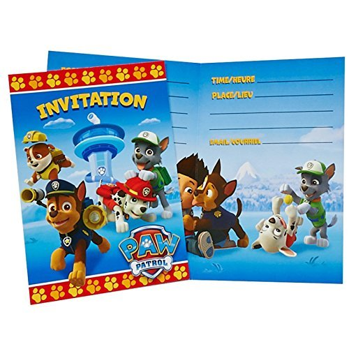 Best Deals! PAW Patrol Invitations (8)