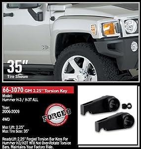 Hummer H3 Readylift Front End Lift Kit/Leveling Kit - Fits 2006, 2008, 2009, 2010 Hummer H3