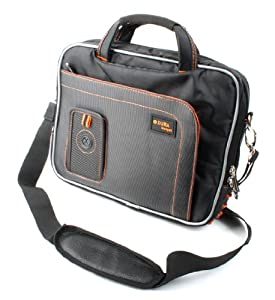 DURAGADGET Deluxe Rugged Shoulder Accessory Bag For Apple iPad 4 With Retina Display & The New iPad 3