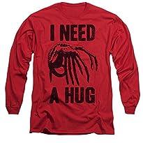Alien Need A Hug Long Sleeve T-Shirt