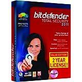 BitDefender Total Security 2011 Value Edition - 3 PC/2 year [Old Version] ~ Bitdefender, LLC